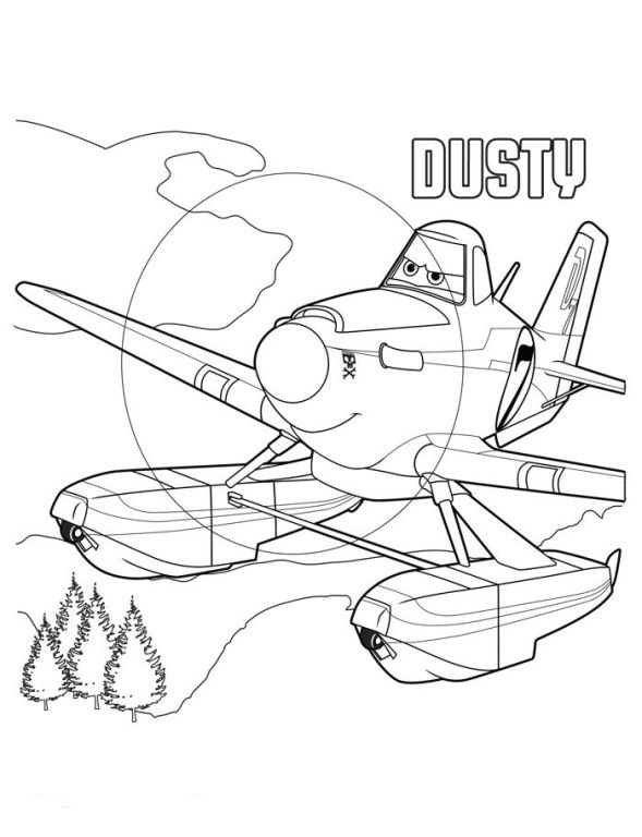 Coloring Page Planes 2 Planes 2 Free Disney Coloring Pages