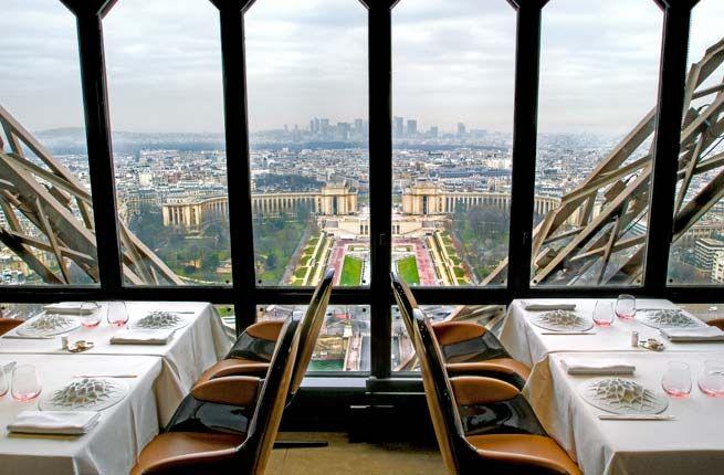 Eiffel Tower Restaurant Jules Verne