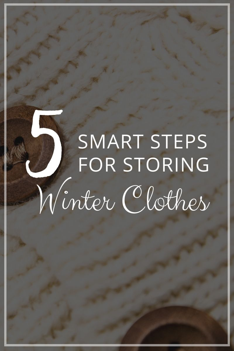 A Guide To Storing Winter Clothes During The Summer. Storage HacksStorage  IdeasClothes ...