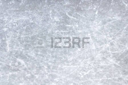 Hockey Top View Of A Sheet Of Ice Scratched Stock Photos Photo Hockey