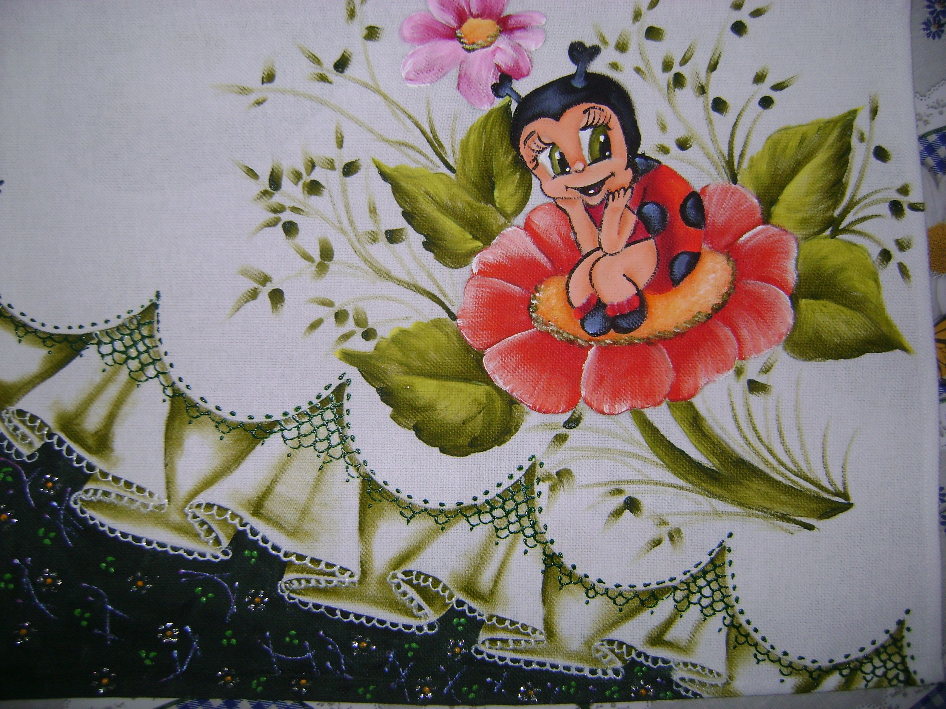 Pintura em tecido minhas pinturas iii pinterest baby - Decorarte pinturas ...
