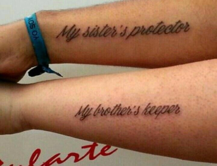 Image Result For I Am My Brothers Keeper Tattoo Designs Tattoo
