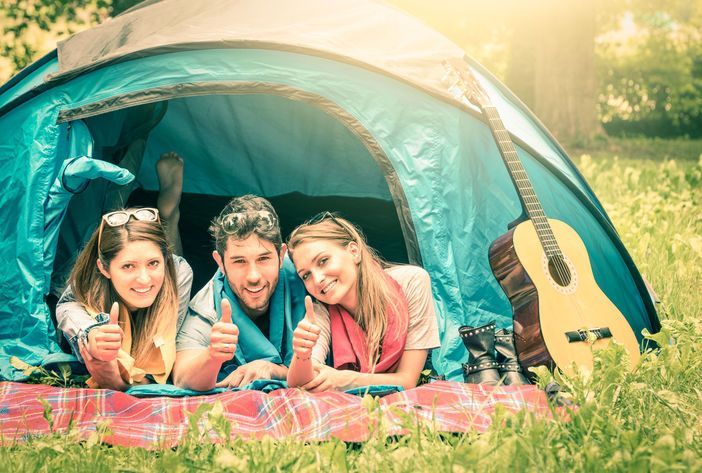 Threesome etiquette camping