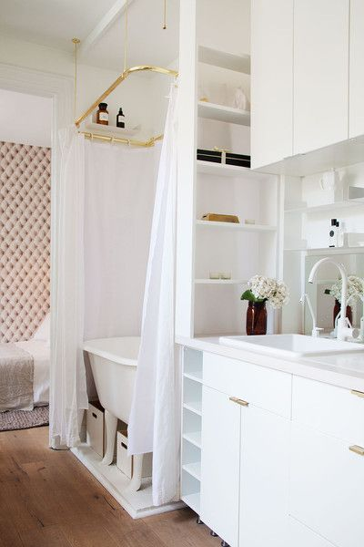Extra Mile | Great Studio Apartments | Pinterest | Baños, Casas and ...