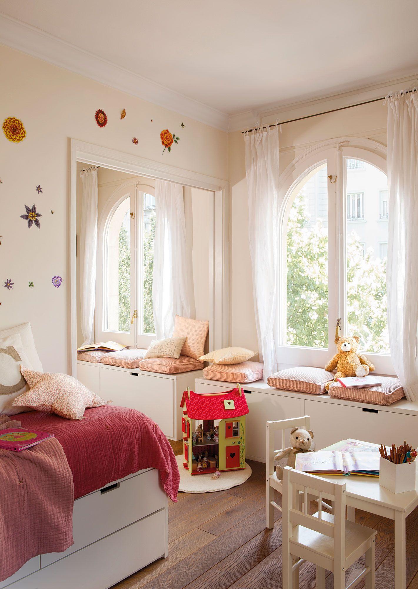 Bancos o gaveteros en 2019 dormiorios infantiles y - Decoracion habitaciones juveniles nina ...