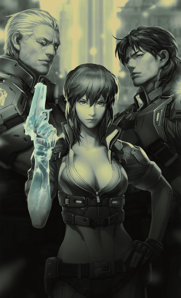 Ghost In The Shell Opened Image01 Anime Ghost Ghost In The Shell Masamune Shirow
