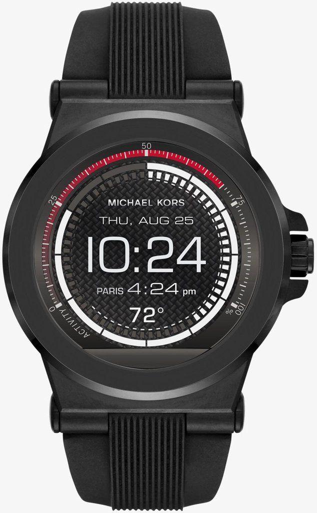 85b87d4511f1e Michael Kors Watch Access Dylan Silicone Smartwatch  add-content   bezel-fixed  bracelet-strap-rubber  brand-michael-kors  case-depth-14mm ...