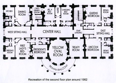 Kennedy White House Floor Plan Www Pinkpillbox Com White House Usa White House House Floor Plans