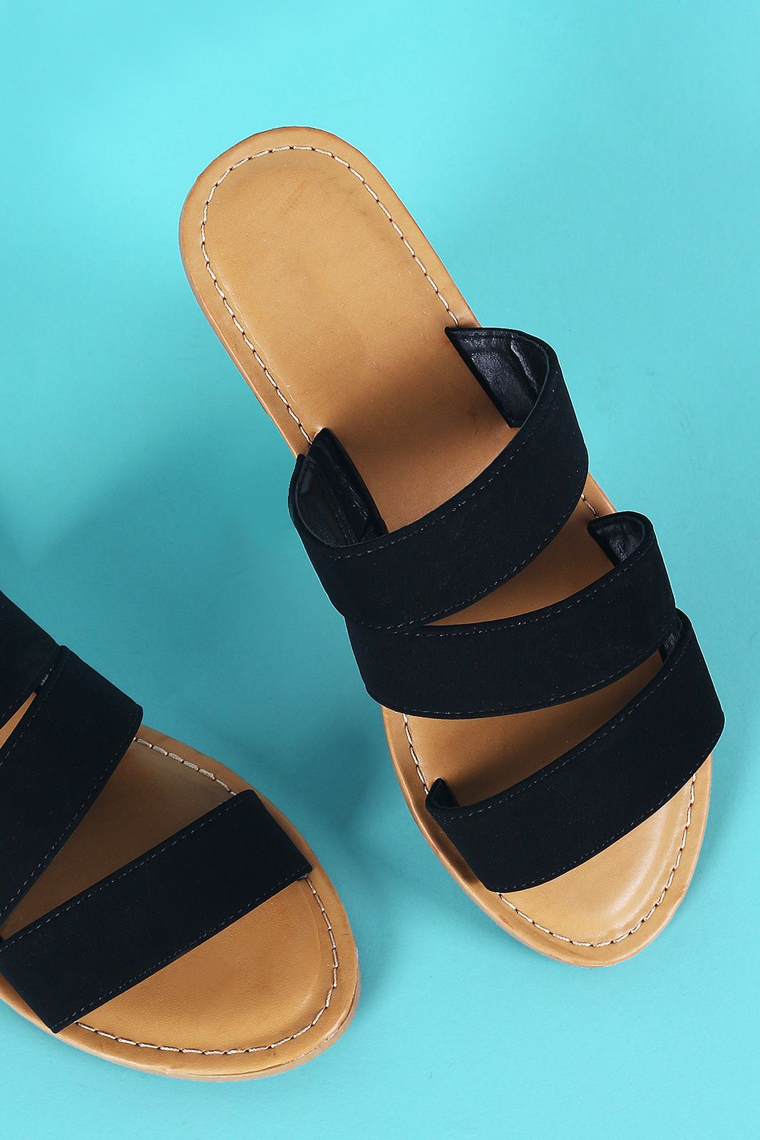 43f9ba2e36297b Strappy Slide Sandal