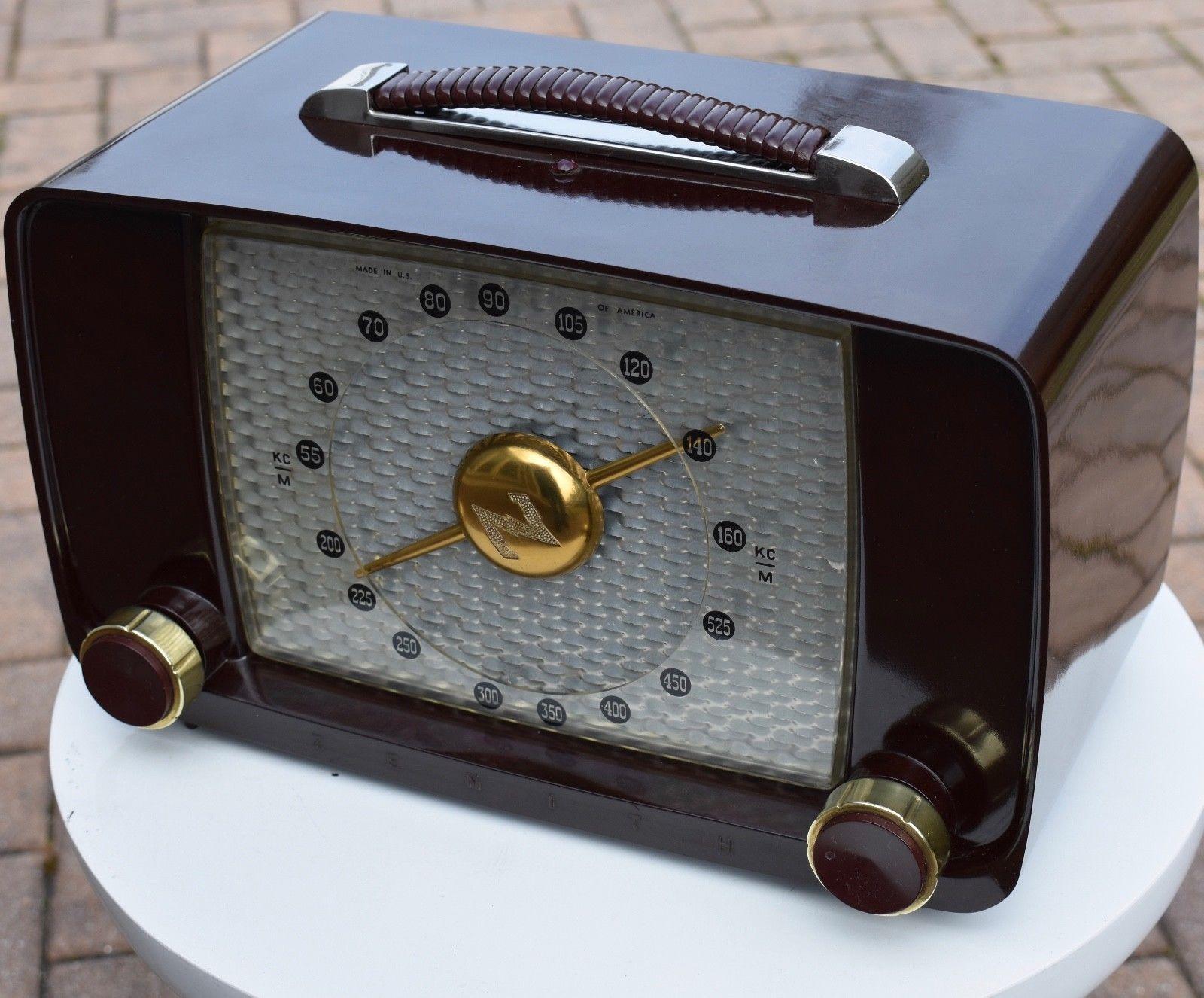 Zenith Mid Century 6 Tube Radio Orig Box Manual Plays Well In 2018. Zenith 6d815 Mid Century 6 Tube Radio Orig Box Manual Plays Well Ebay. Wiring. 1920s Zenith Tube Radio Schematics At Scoala.co