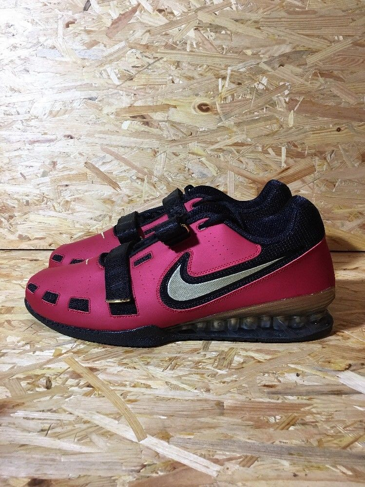 Nike romaleos ii 2 powerlifting weightlifting shoes ds bnib sz 18 02170bff0