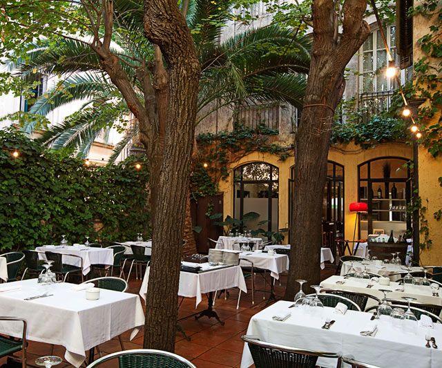 Jardi jardin terraza vivanda restaurant restaurante for Barcelona jardin