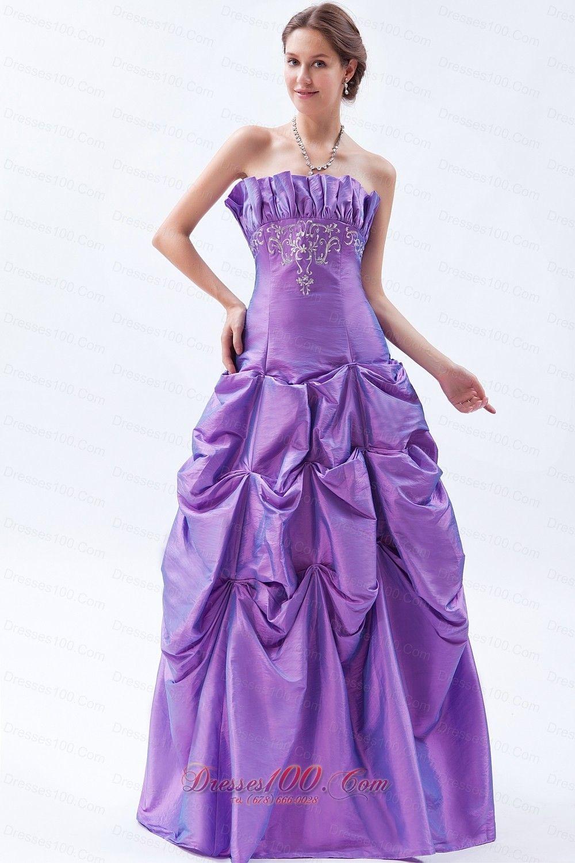 Magnífico Vestido De La Dama De Honor Factura Diseñador Levkoff ...