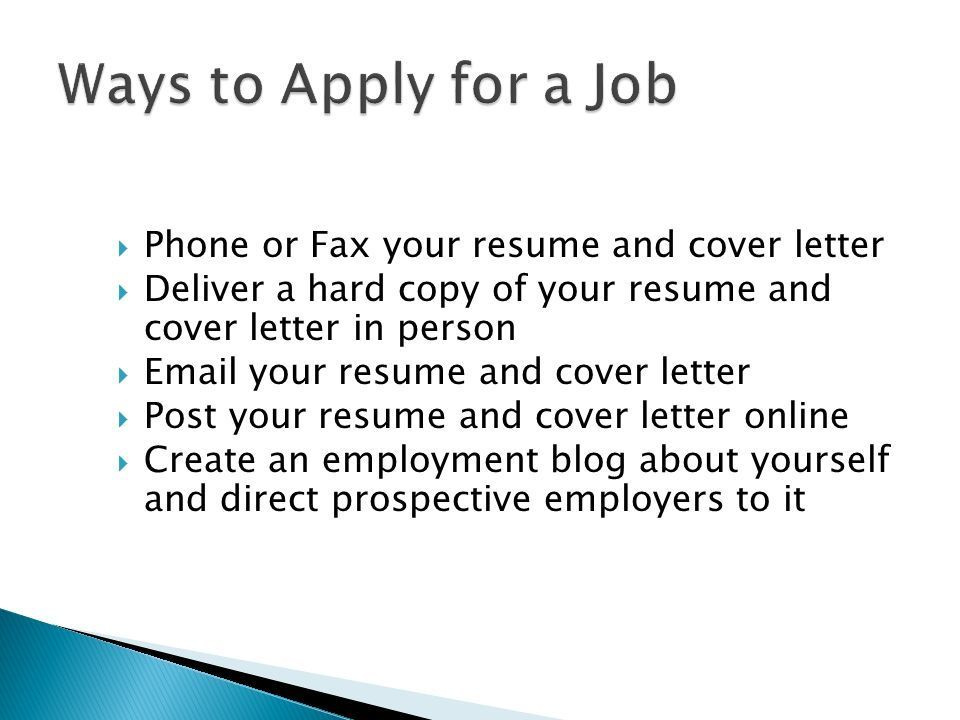 Do You Know How To Apply For A Job? #JobTips #ApplyingForJobs - post your resume