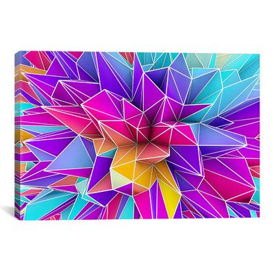Abstract Wall Art | Wayfair