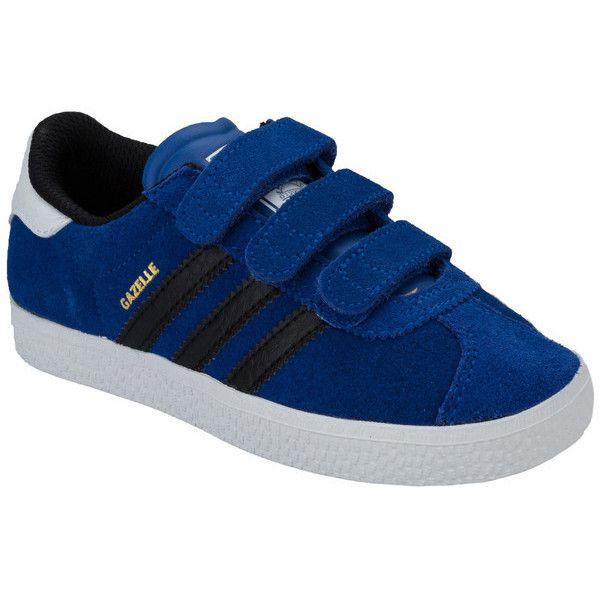 adidas Originals Blue Children Boys Gazelle 2 Trainers – Ashoop ...
