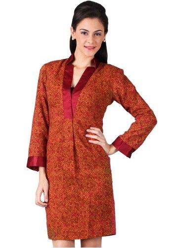 Model Baju Batik Wanita Untuk Kerja Kantor  c06a08f677