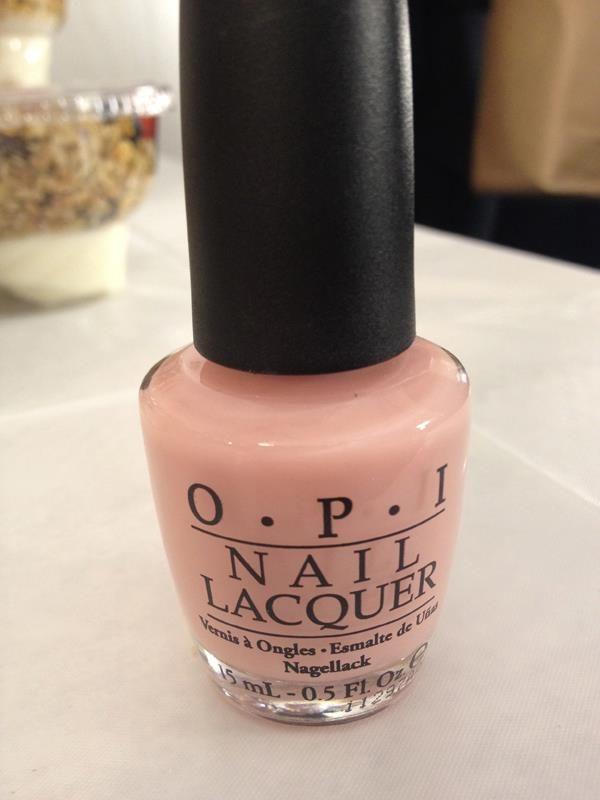 OPI {Passion} Nude with a touch of pink,. My go-to everyday nail ...