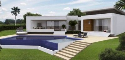 Lujosas casas campestres con piscina casa pinterest for Casas campestres modernas planos