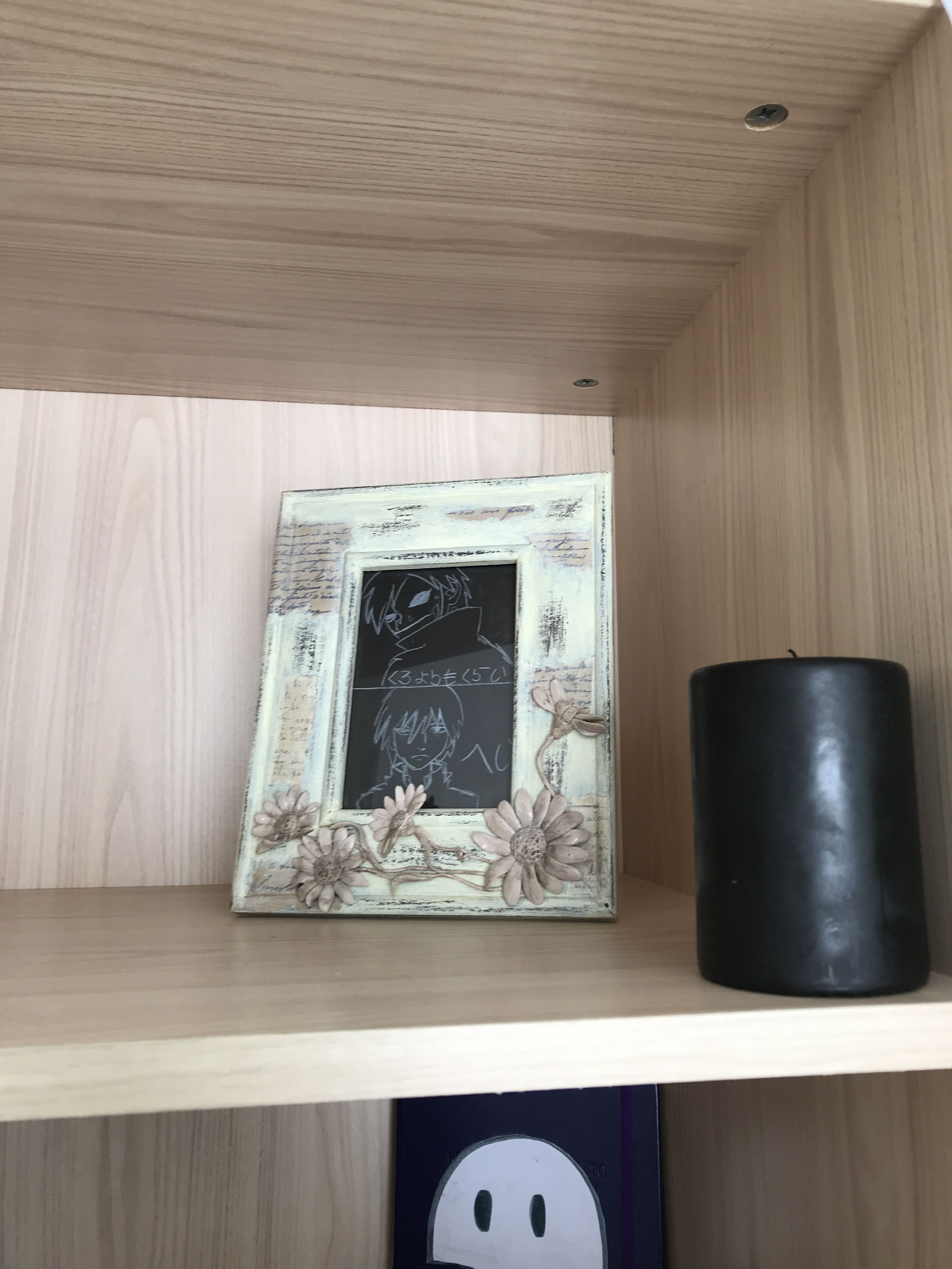 Just black things will also make your room look more gothic diy