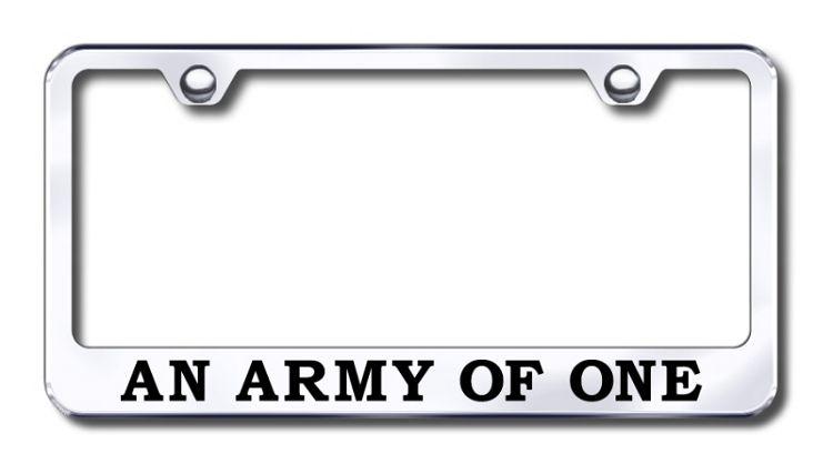 Laser Engraving License Plate Frame US standard Stainless Steel For Lincoln
