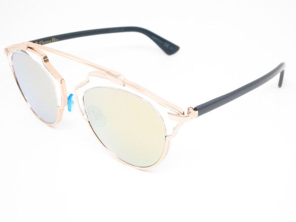 3b97b4901df Dior So Real U5SK1 Gold SoReal Mirrored Womens Sunglasses - Add this one to  your Wishlist! - Free United States S H - Lowest Prices on Name Brand  Fashion ...