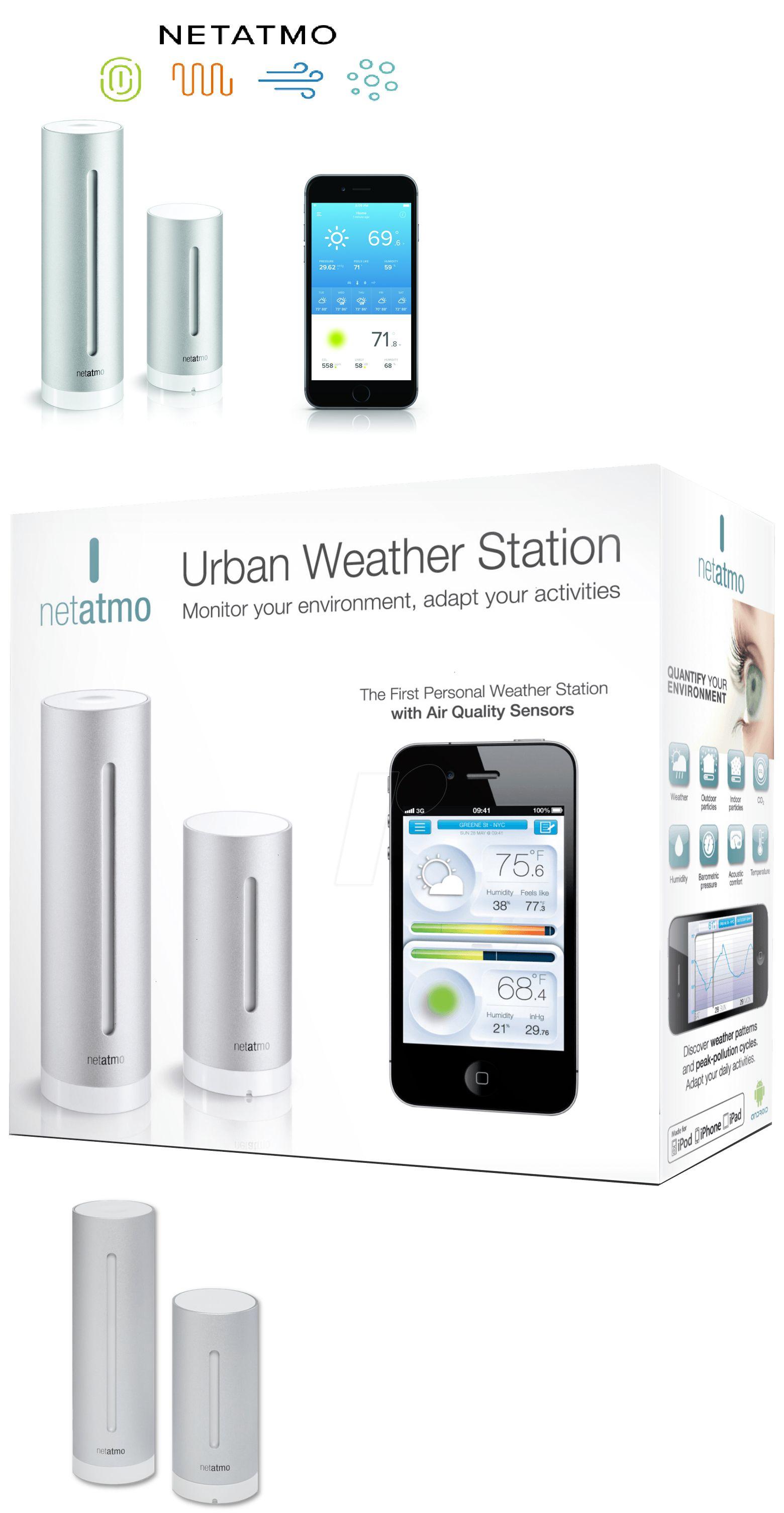 Weather Meters: Netatmo Weather Station Nws01-Us Indoor Outdoor ...