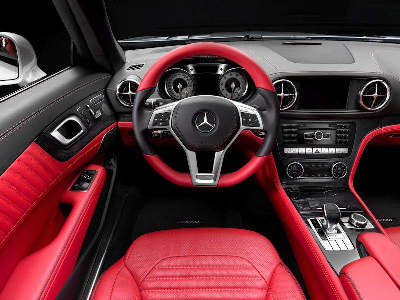 2013 Mercedes Sl Interior Red Mercedes Benz Mercedes Sl Mercedes