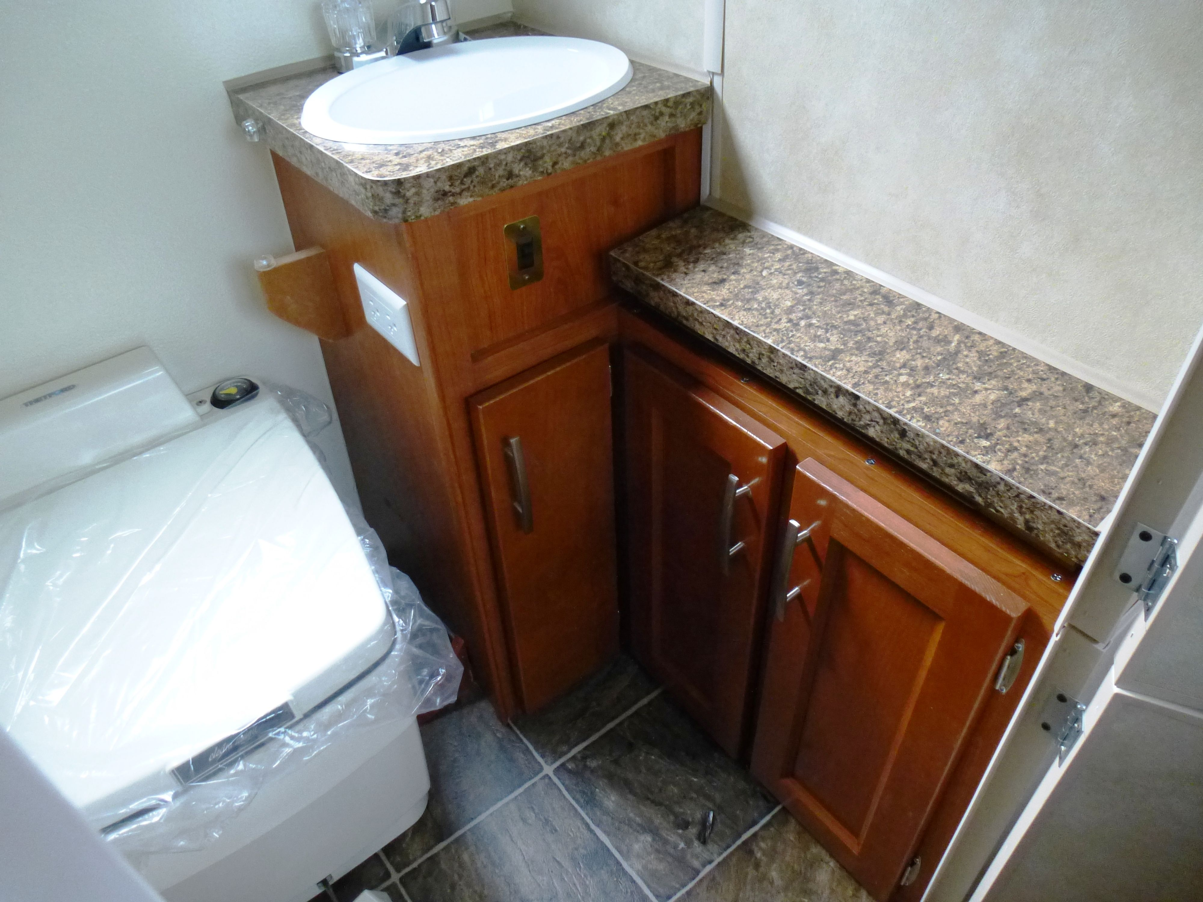 Bathroom In The Pop Up Camper Camping Pinterest Camping Camper Remodeling And Rv