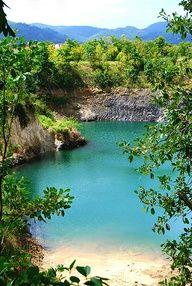The island of Martinique.
