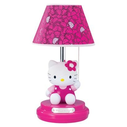 Hello Kitty Table Lamp.Opens in a new window