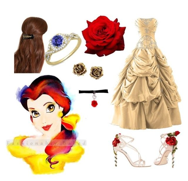 """""""beauty and the beast"""" by pandachic on Polyvore"""