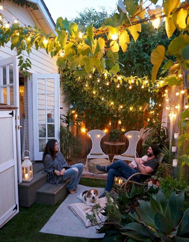 42 Awesome Backyard Lighting Ideas Tiny House Living Room
