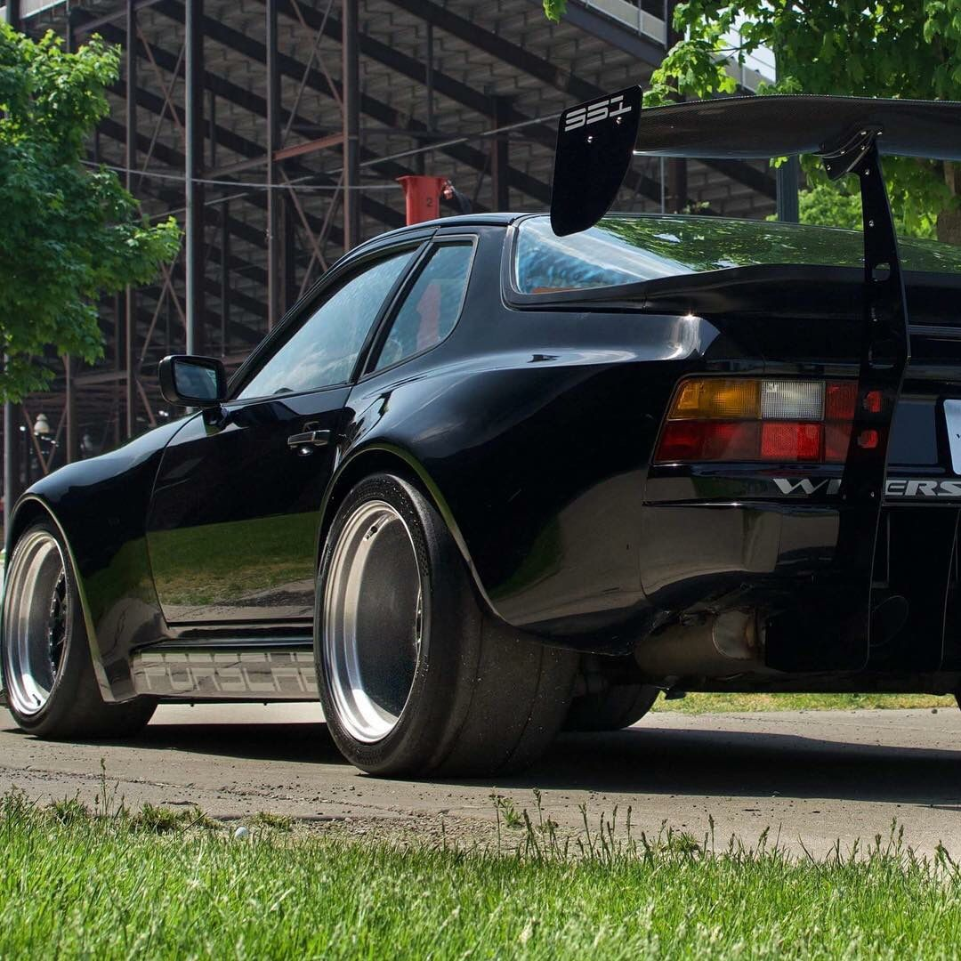 Porsche 924 Duraflex Turbo 944 Look Rear Fender Flares 2