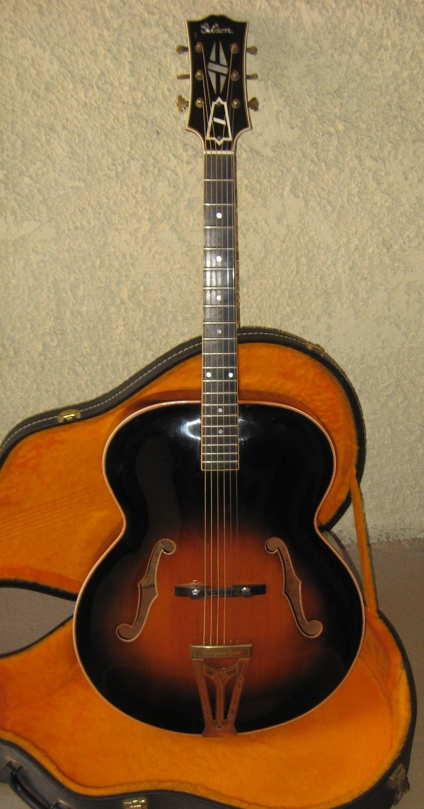 details about 1939 gibson super 400 18 archtop acoustic guitar no reserve archtop jazz. Black Bedroom Furniture Sets. Home Design Ideas