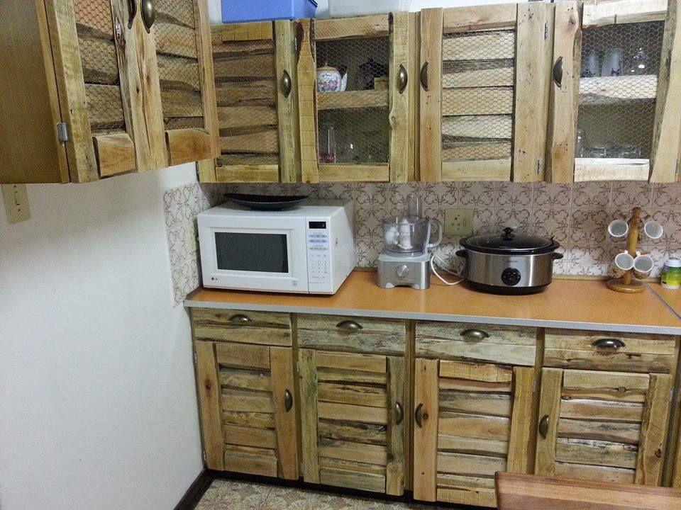 Reciclaje con pallets Muebles de cocina | de otros autores ...