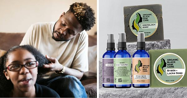 New Organic Black Hair Care Brand Launches With Over 50 Do-It-Yourself Products
