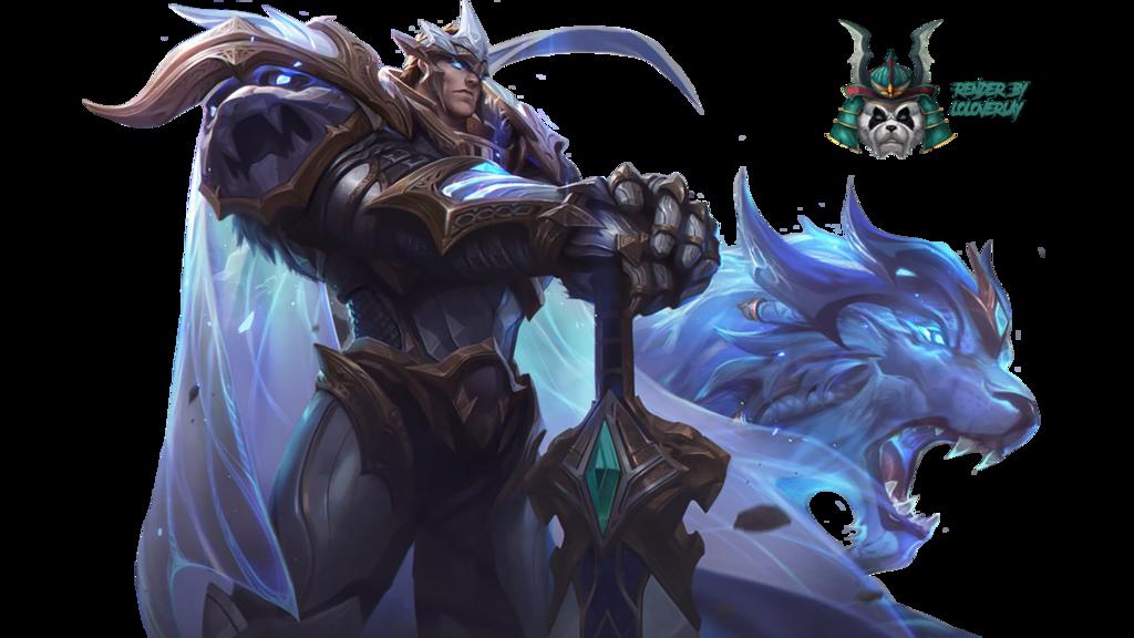 God King Garen Render By Lol0verlay League Of Legends Lol League Of Legends God