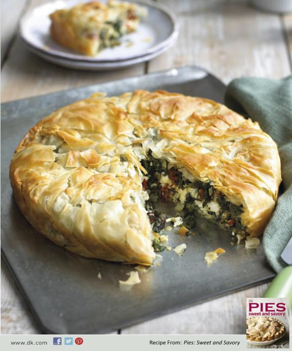 Ground Beef Phyllo Recipe: Free #recipe For Feta Filo Pie