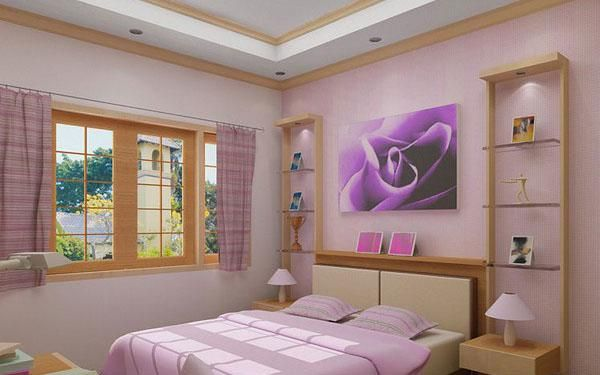 Jʊ√ҽɳỈʂ... The-Purple-Painting-Of-Stylish-Teenage-Girls-Bedroom-Ideas
