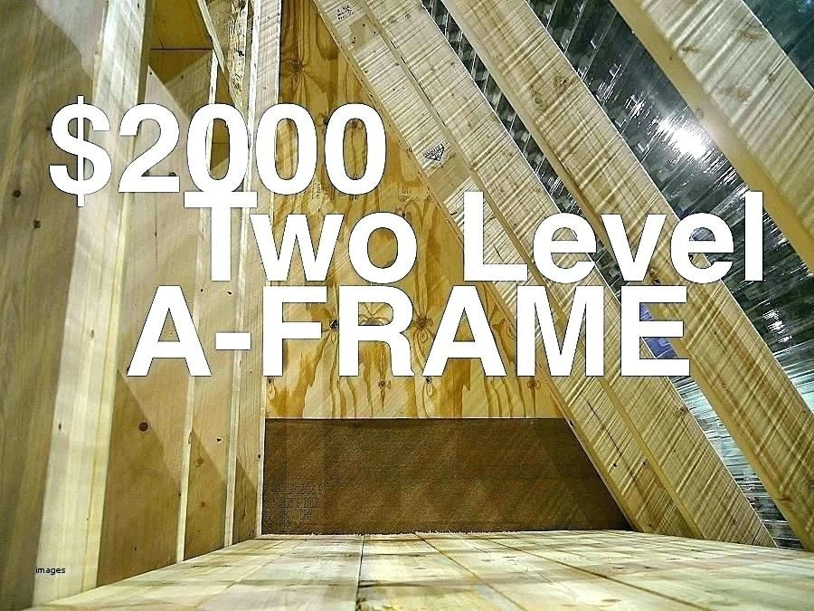 A Frame House Cost A Frame Houses Cost House Framing Cost Framing