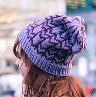 The third stranded colorwork hat in my new set is Down Arrows; shown here in Shepherds Worsted from Stonehenge Fiber Mill and Worsted from Patons. Each of the hats uses a mix and match collection of worsted weight yarns from various producers, that all play well together.