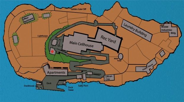 Alcatraz Map Concept Image The Rock Mod For Left 4 Dead Alcatraz