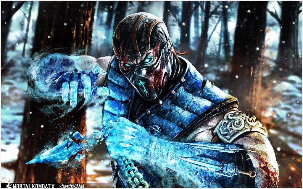 Sub Zero Mortal Kombat Wallpaper | mortal kombat 9 cyber sub