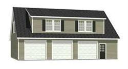 Garage_With_Loft_Plans - 2280-5 by Behm Design | Garage Apartments ...
