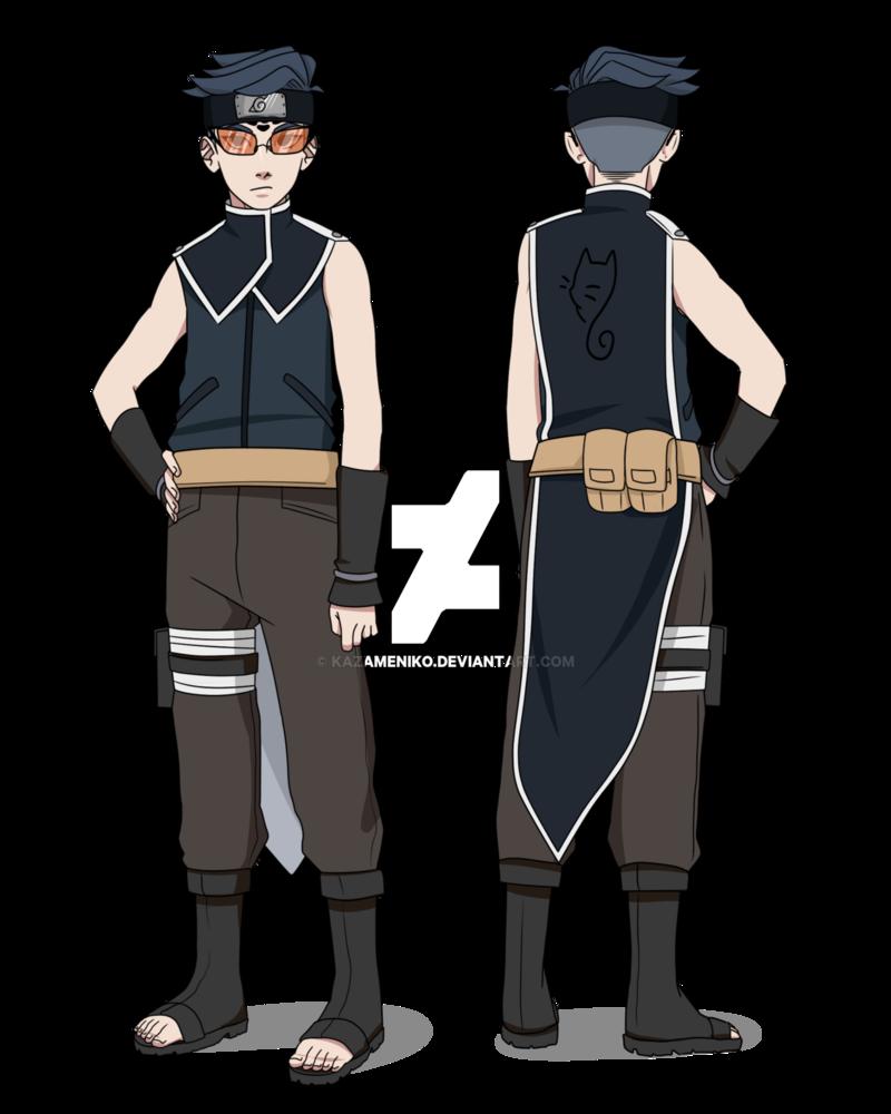 Anime Naruto Shippuden Boruto The Origin Of The Name: Default Design: Boruto The Movie (Art By Radrabbiitt