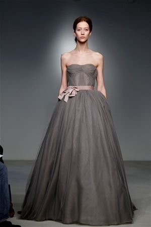 Vera Wang Gown, super love the mud color