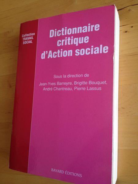 Dictionnaire Critique D Action Sociale Jean Yves Barreyre Action Sociale Critique Dictionnaire