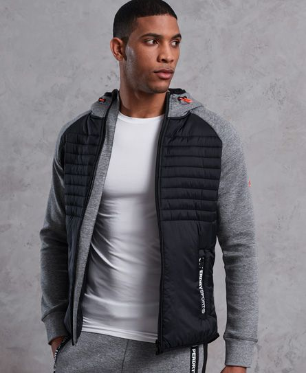 Gym HerrenDiese Hybrid Für Tech Kapuzenjacke Superdry SMUzpV