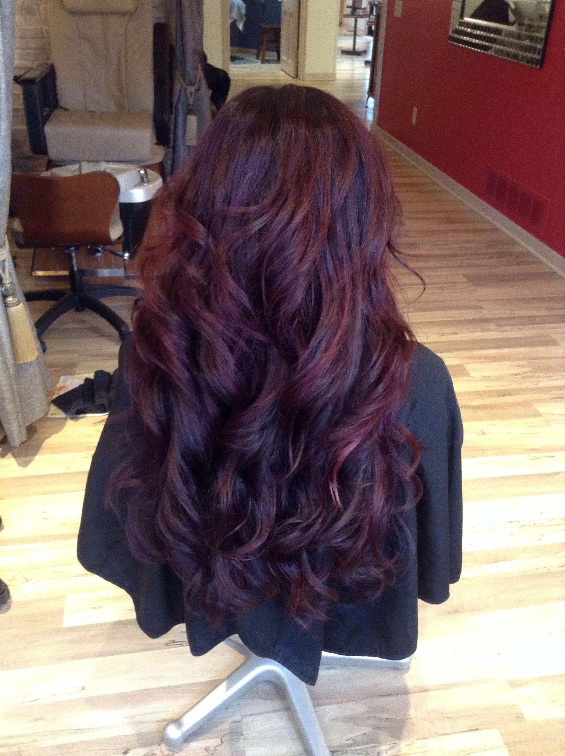 Beautiful Mulberry Merlot Haircolor Reds Longhair